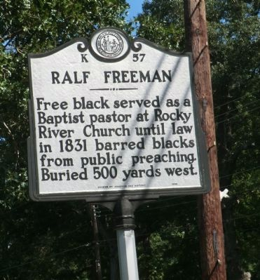 Ralf Freeman Marker image. Click for full size.