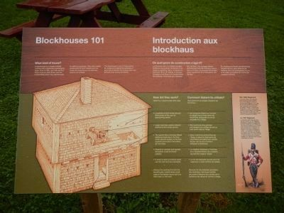 Blockhouse 101 Marker image. Click for full size.