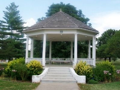 Haskell Bandstand/Gazebo image. Click for full size.