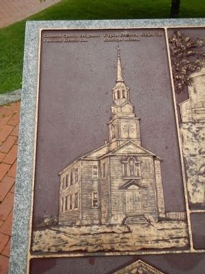 Detail from the St. Andrews Historic District Marker image. Click for full size.