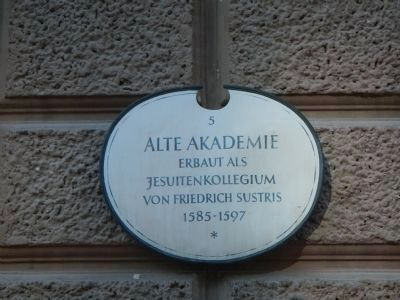 Old Academy Marker </b>(Marker 5) image. Click for full size.