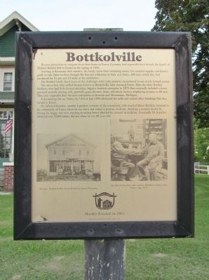 Bottkolville Marker image. Click for full size.