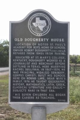 Old Dougherty House Marker image. Click for full size.