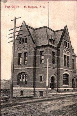 St. Stephen Post Office - Historical View image, Touch for more information