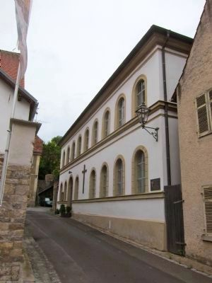 The Former Mainstockheim Synagogue - Wide View image. Click for full size.