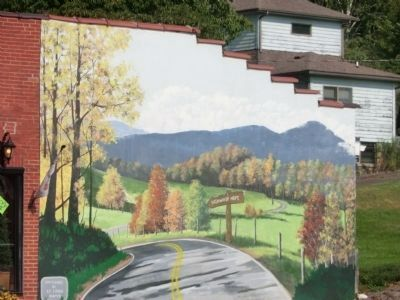 Mural on the side of a building in Burnsville image. Click for full size.
