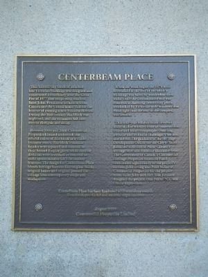 Centerbeam Place Marker image. Click for full size.