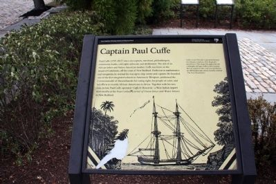 Captain Paul Cuffe Marker image. Click for full size.