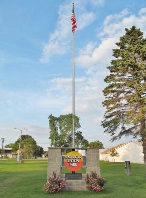 American Legion Park Marker image, Touch for more information
