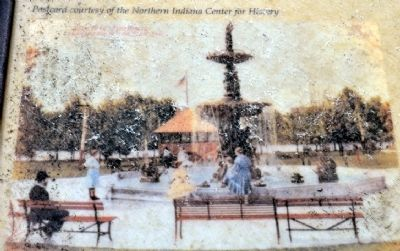 Postcard of the Electric Fountain image. Click for full size.