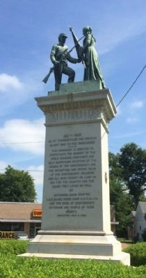 Yazoo County Civil War Memorial image. Click for full size.