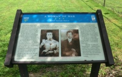 A Woman of War Marker image. Click for full size.