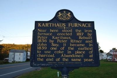 Karthaus Furnace Marker image. Click for full size.