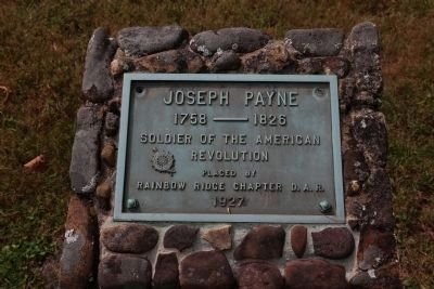 In the Graveyard: Joseph Payne (1758–1826) Soldier of the American Revolution image. Click for full size.