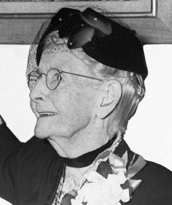 Grandma Moses in 1953 image. Click for full size.