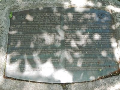 Saint John's Original Burial Ground Marker image. Click for full size.