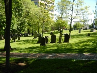 Saint John's Original Burial Ground image. Click for full size.