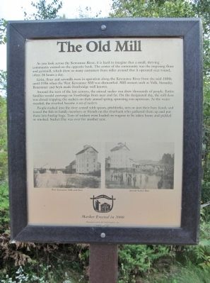 The Old Mill Marker image. Click for full size.