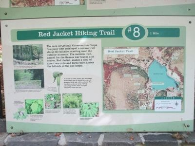 Red Jacket Trailhead to Ski Jumps Site image. Click for full size.