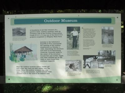 Outdoor Museum Marker image. Click for full size.