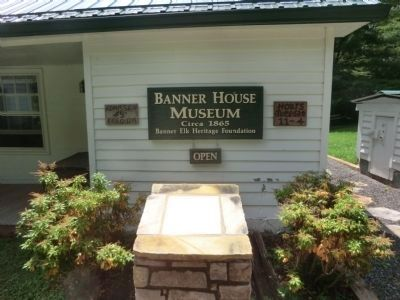Side entrance to the Banner House Museum image. Click for full size.