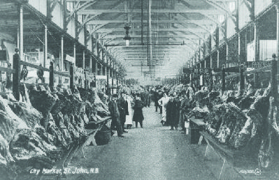 An early view of the Saint John City Market image. Click for full size.