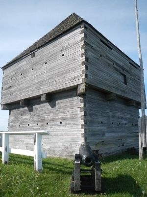 Replica Blockhouse image. Click for full size.