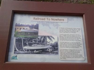 Railway To Nowhere Marker image. Click for full size.