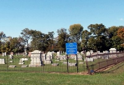 Silver Island Cemetery Marker image. Click for full size.