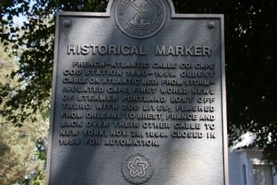 French–Atlantic Cable Company Marker image. Click for full size.