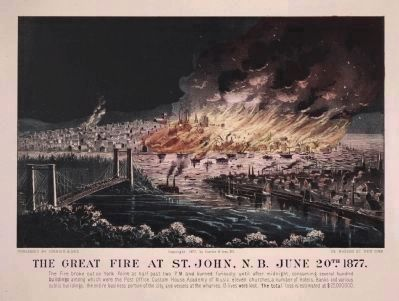 The Great Fire of 1877 image. Click for full size.