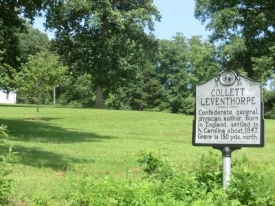 Collett Leventhorpe Marker image, Touch for more information