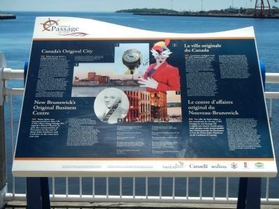 Canada's Original City Marker image. Click for full size.