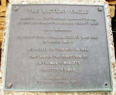 The Victory Eagle Marker image. Click for full size.