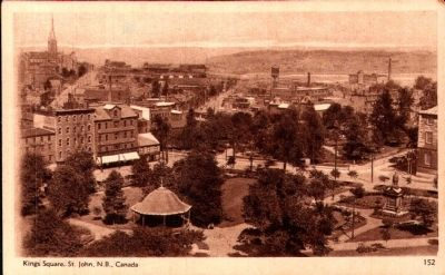 King Square, St. John, N.B. image. Click for full size.