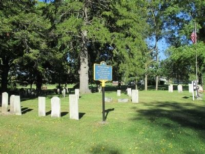 Burial Ground Marker image. Click for full size.