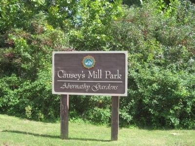 Causey's Mill Park/Abernathy Gardens image. Click for full size.