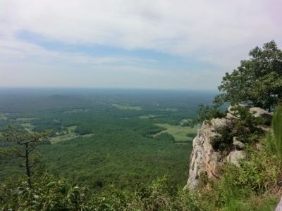 View from the summit of Pilot Mountain image. Click for full size.