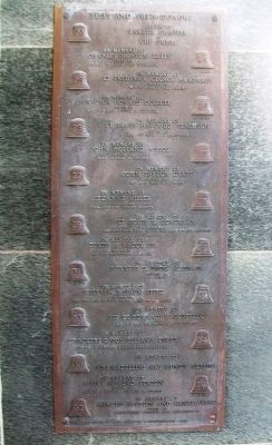 World War II Memorial Campanile Marker image. Click for full size.