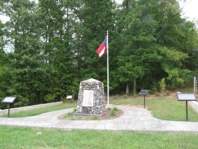 Gen. N.B. Forrest Captured Col. A.D. Streight Monument Marker image. Click for full size.