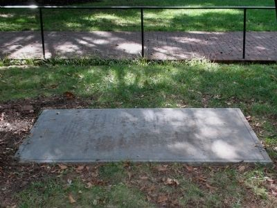 New York Memorial Stone at Falls Church image. Click for full size.