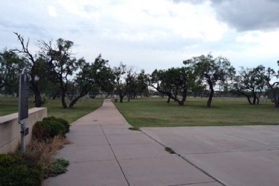 View to the south towards Dyess AFB image. Click for full size.