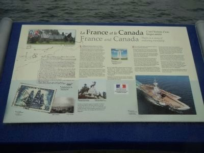France and Canada Marker image. Click for full size.
