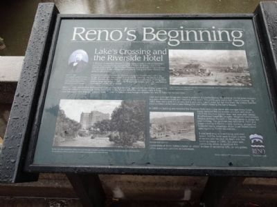Reno's Beginning Marker image. Click for full size.
