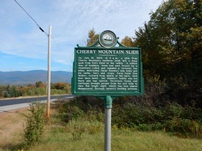 Cherry Mountain Slide Marker image. Click for full size.