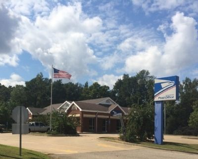 Shorter, Alabama Post Office image. Click for full size.