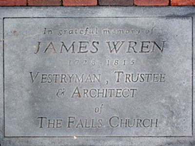 James Wren Marker image. Click for full size.