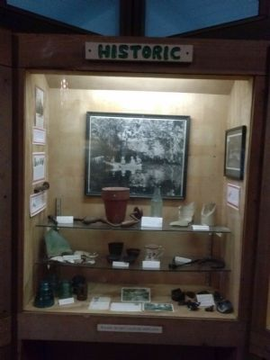 Historic artifacts in Arch Creek Museum Display image. Click for full size.