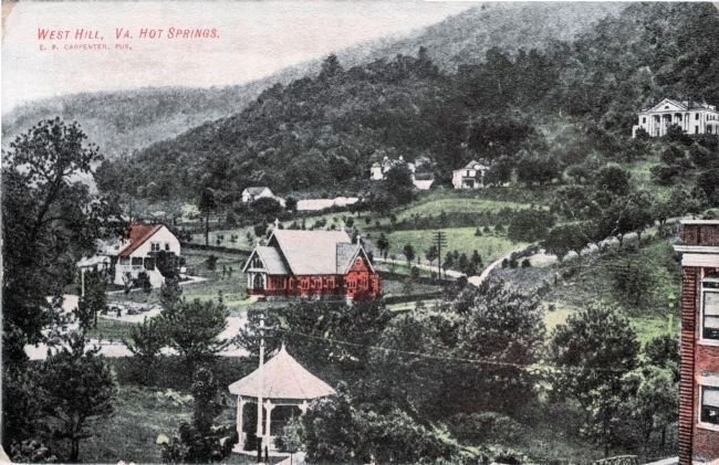West Hill, Va. Hot Springs image. Click for full size.