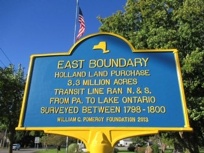 East Boundary Marker image. Click for full size.